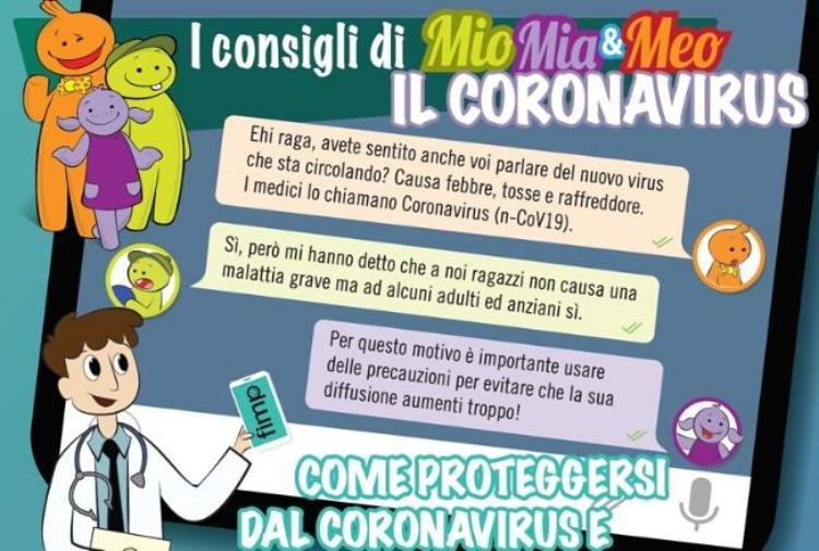 Coronavirus E Ragazzi Un Fumetto E 6 Regole